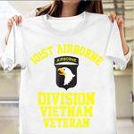 101st Airborne Division Vietnam Veteran Shirt.p101st Airborne Division Vietnam Veteran T-Shirt Proud Veteran Patriot Shirt Gift For Army