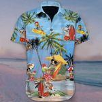 Chihuahua At Beach Vacation Hawaiian Shirt Mens Womens Summer Vacation Aloha Shirt Gift