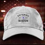 Entering Boston Hat Vintage Baseball Caps For Men Women
