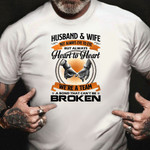 Husband Wife Not Always Eye To Eye But Heart To Heart Shirt For Husband And Wife Parents Gift