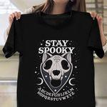 Stay Spooky Halloween Tees Halloween Womens Clothing Pumpkin Shirt Horror Merch Scary Shirts