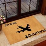 Arrivals Departures Doormat Creative Doormat Ideas For Front Door House Mat