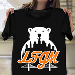 LFGM Shirt Polar Bear The New York Mets Vintage T-Shirt Gift Ideas For Baseball Players