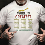 Fathers Day Shirt Worlds Greatest You Wouldn't Understand Dad Guitar Shirt Fathers Day Ideas