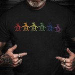 Pride Shirt LGBT Duck Funny Gay Pride Shirts Gifts For Gay Best Friend