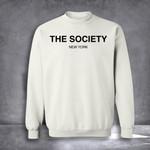 The Society New York Sweatshirt Classic Sweatshirt Cool Gift For Friend