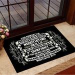 This Property Is Protected By A Veteran Gun Doormat Cool Welcome Mat Proud Veteran Gift