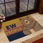 Bear Ew People Doormat Funny Doormat Sayings Home Decoration