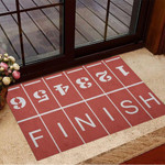 Running Track When You Start And Finish Doormat