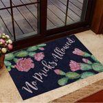Succulents Are Flowering No Pricks Allowed Doormat