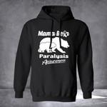No Paralysis Hoodie Mama Bear Paralysis Awareness Hoodie No Paralysis Clothing