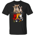 Lovely Chihuahua T-Shirt Funny Cute Halloween Gift Idea For Dog Lovers Dog Themed Present