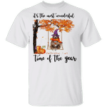 Sloth It's The Most Beautiful Of The Year T-Shirt Halloween Apparel For Sloth Lover Fall Shirt