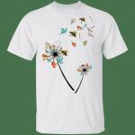 Ghost Turtles Dandelion Flowers Halloween T-Shirt Simple Halloween Costumes For Turtle Lovers