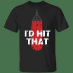 Hubie Boner Donor Halloween mom Shirt I'd Hit That T-Shirt Funny Gift