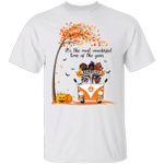 Dachshund It's The Most Wonderful Time Of The Year T-Shirt Cute Funny Halloween Gift Apparel