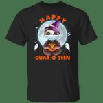 Sloth Happy Quar O Teen Shirt Happy Sloth Wearing Mask T-Shirt Halloween Graphic Tees