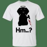 Black Dachshund Hold Knife Hm T-Shirt Scary Halloween Creepy Shirt Dachshund Gifts For Unisex