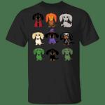 Dachshund Halloween T-Shirt Cute Dog Shirt For Halloween Holiday Gift Dachshund Apparel