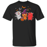 Cute Pig Pumpkin Halloween Costume Funny T-Shirt Gift Idea For Sister Brother Pig Lover