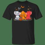 Cute Elephants Cosplay Halloween T-Shirt Creative Halloween Costume Ideas For Elephant Lovers