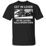 Pitbull Get In Loser We're Saving Halloweentown Shirt Funny Halloween Gift For Pitbull Lovers