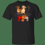 Family Dachshund T-Shirt Reflection Of Halloween Shirt Cute Gift Ideas For Dachshund Lovers