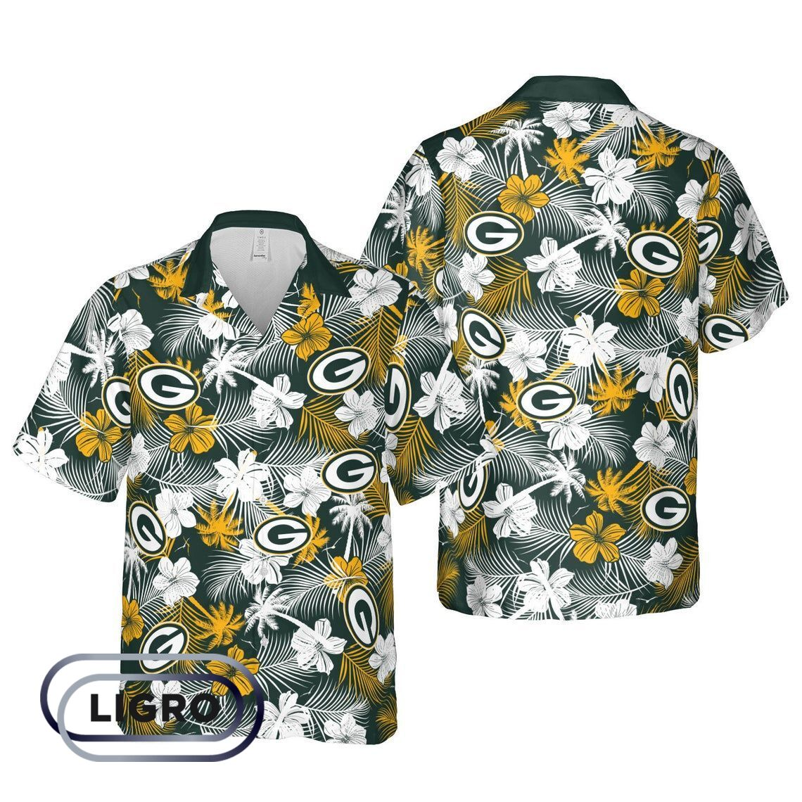 Green Bay Packers NFL Football Hawaiian Shirts