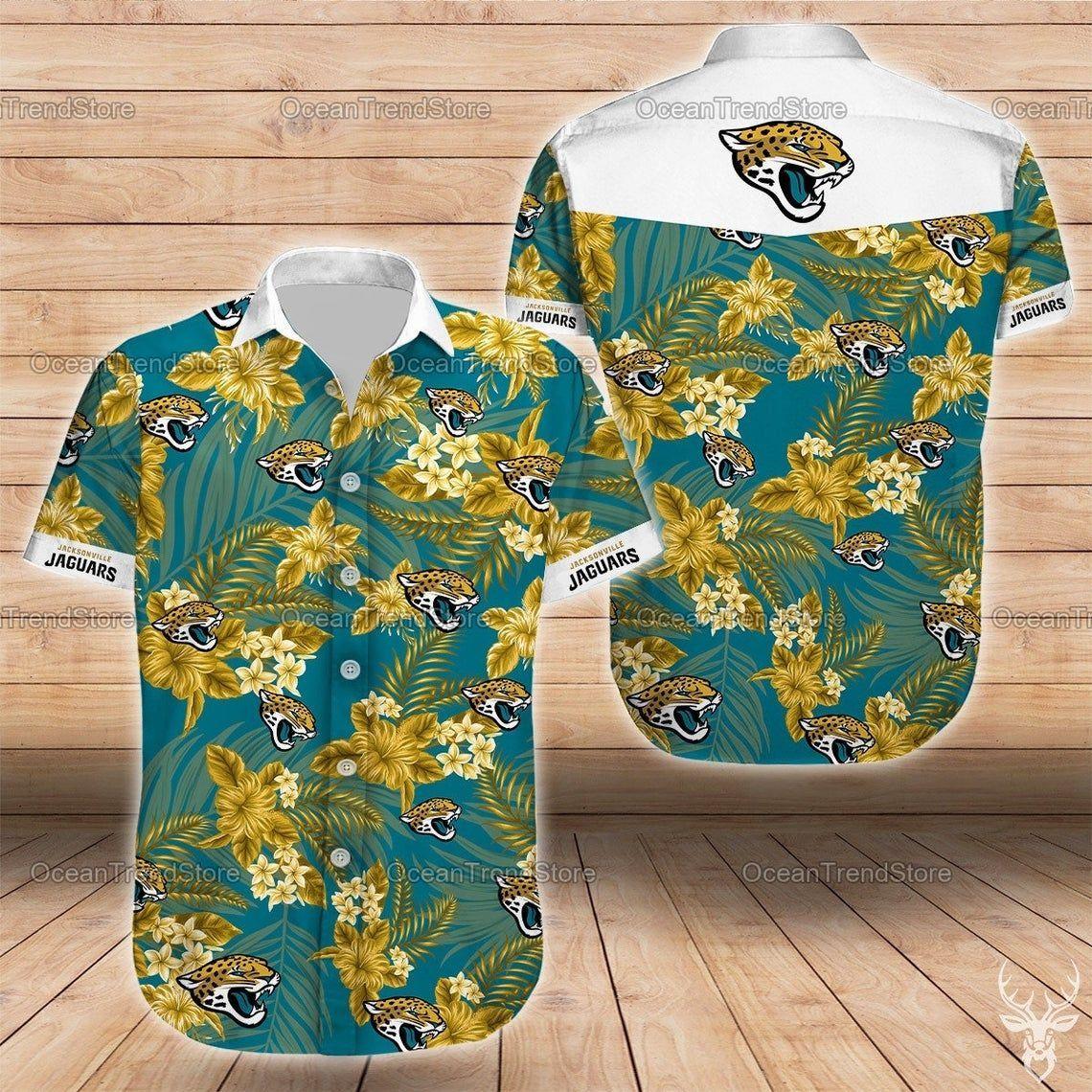 Jacksonville Jaguars Hawaiian Shirt Hawaiian NFL