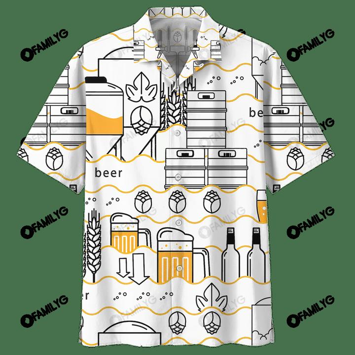 Beer Craft Hawaiian Shirt