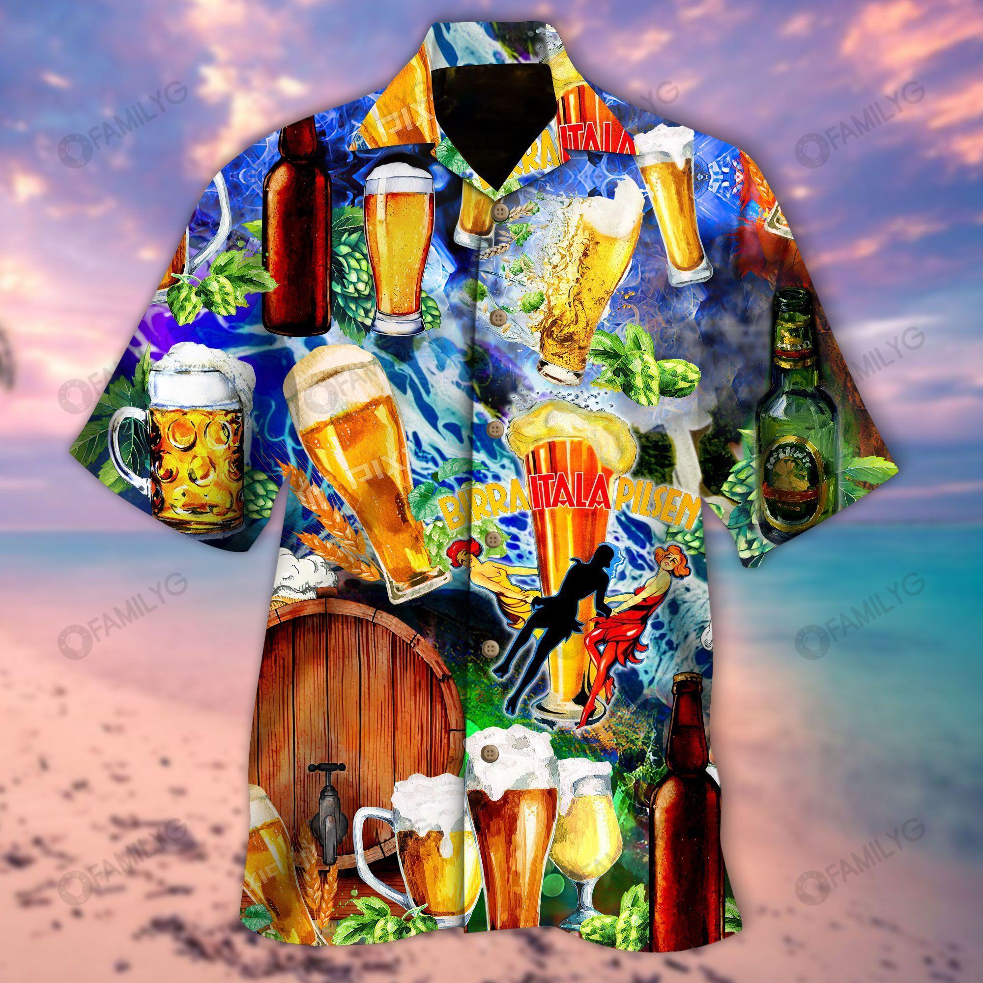 Aloha Shirt Blessings Of Your Heart You Brew Good Ale Beer Hawaiian Shirt