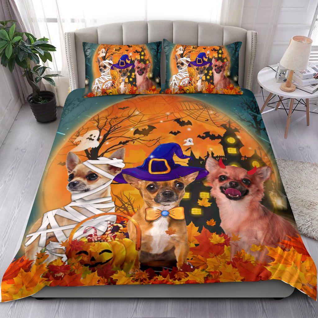 Halloween Chihuahua Costume Bedding Set