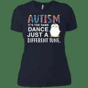 Autism Ist The Same Dance Just A Different Shirt Ladies Boyfriend T-