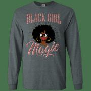 Black Girl Magic Diva Queen Afro Melanin Rose Gold Apparel
