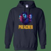 Preacher Season 2 Comic Book Cult Tv Show Hoodie