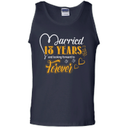 18 Years Wedding Anniversary Shirt For Husband And Wife Tank Top