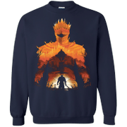 Time to Praise the Sun G180 Gildan Crewneck Pullover Sweatshirt 8 oz