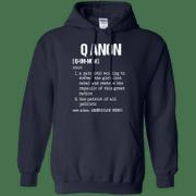 Qanon Shirt Definition of Qanon Hoodie