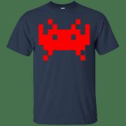 GamersGaming Space Alien Invader Tshirt