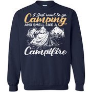 I Just Want To Go Camping And Smell Like A Campfire Shirt