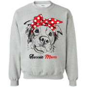 Aussie Mom Bandana Australian Shepherd Mom Shirt Hoodie