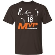 Football rugby player number 18 MVP shirt