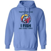 Bass that's what i do i fish and i forget things shirt