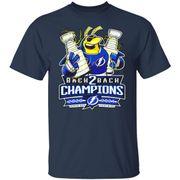 Back 2 back Champions 2020-2021 Tampa Bay Lightning shirt