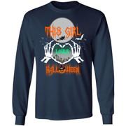 This Girl loves Halloween shirt