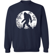 Bigfoot Hiding in Forest Halloween Shirt