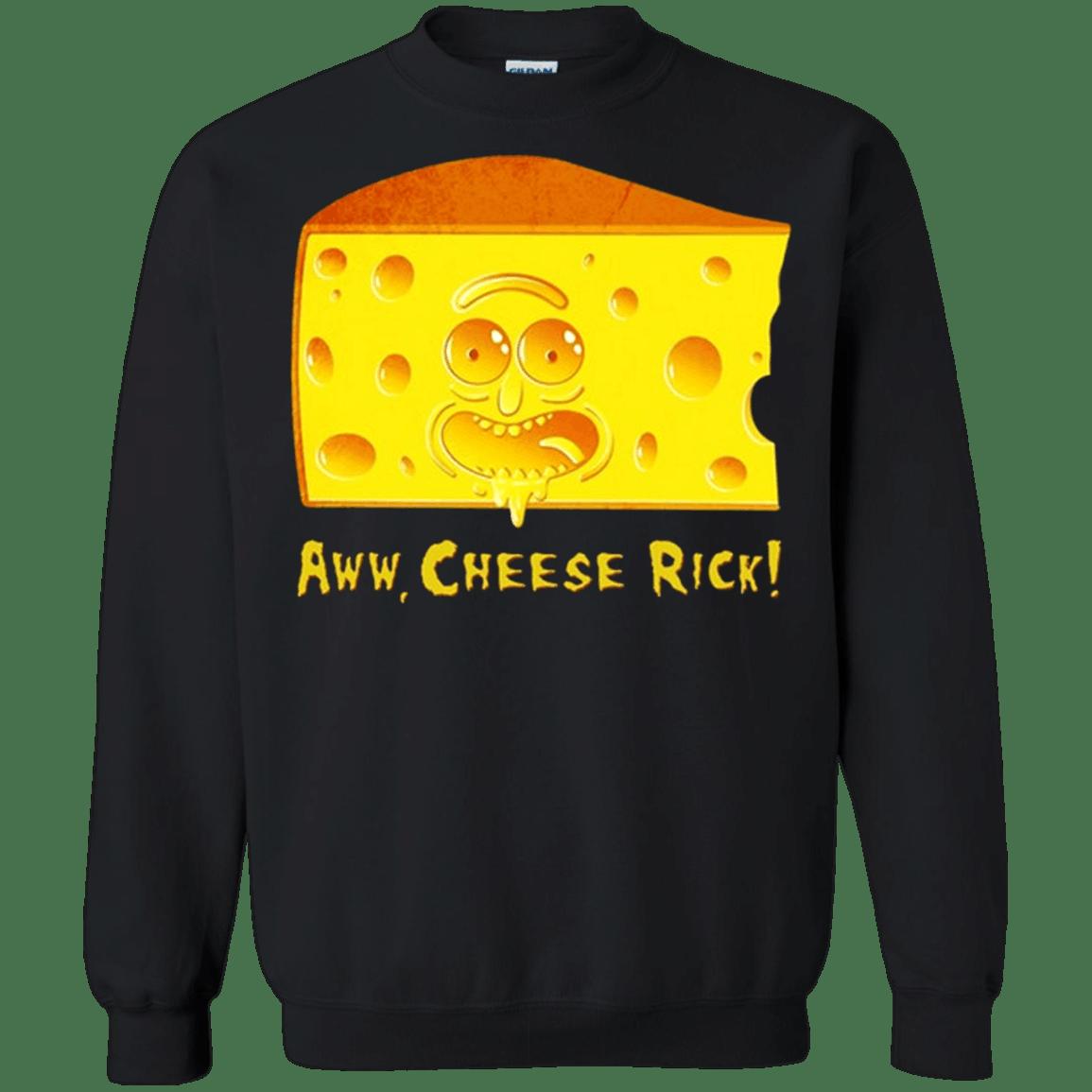 Cheese Rick – Rick and Morty G180 Gildan Crewneck Pullover Sweatshirt