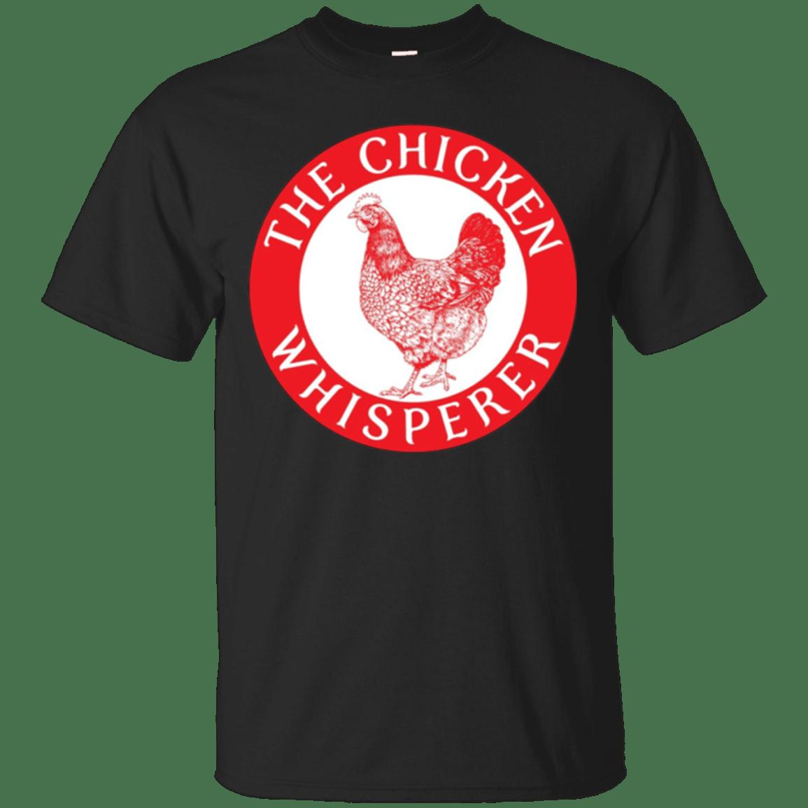 The Chicken Whisperer Shirt Farming Cattle Chicks Funny Gift