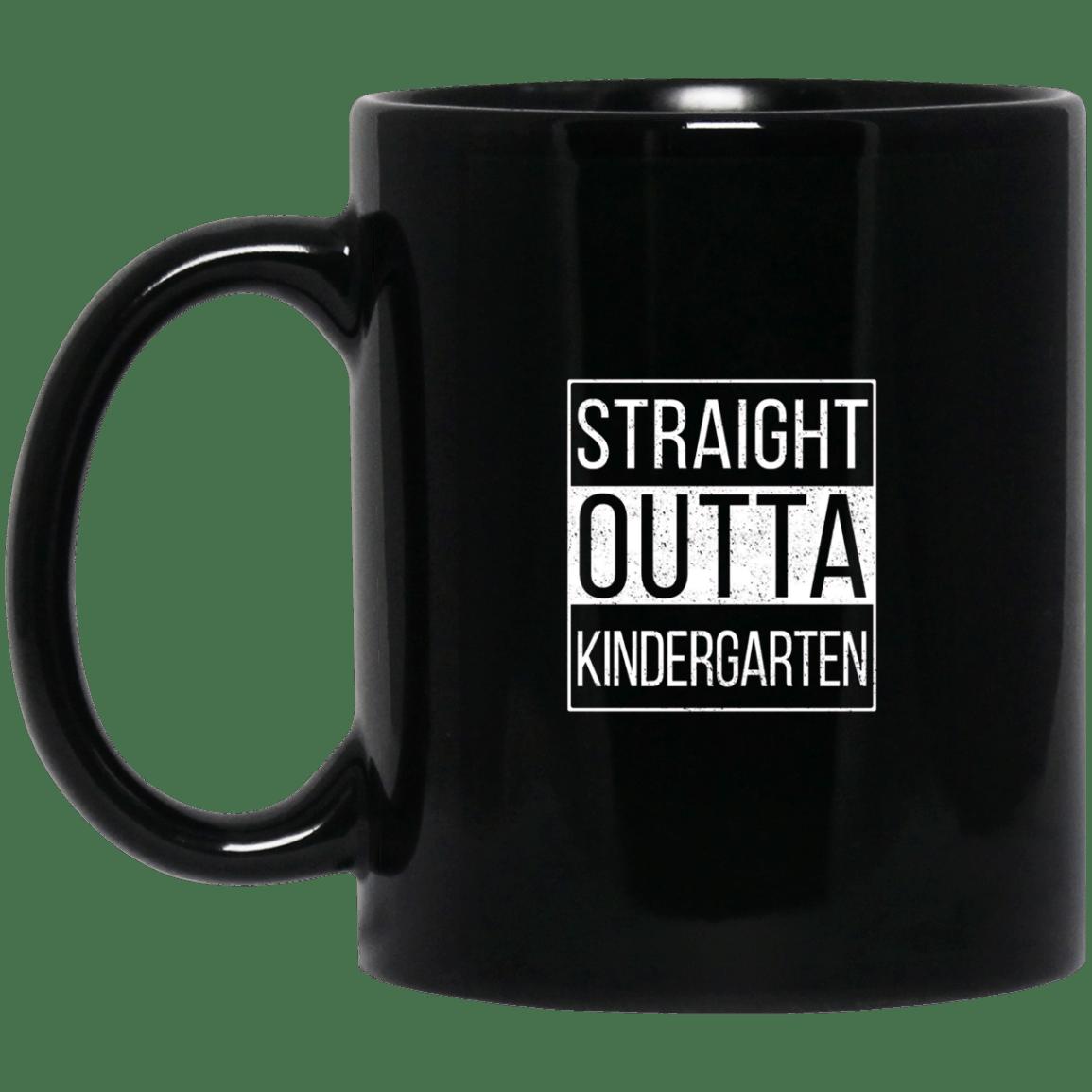 Straight outta kindergarten adult mug