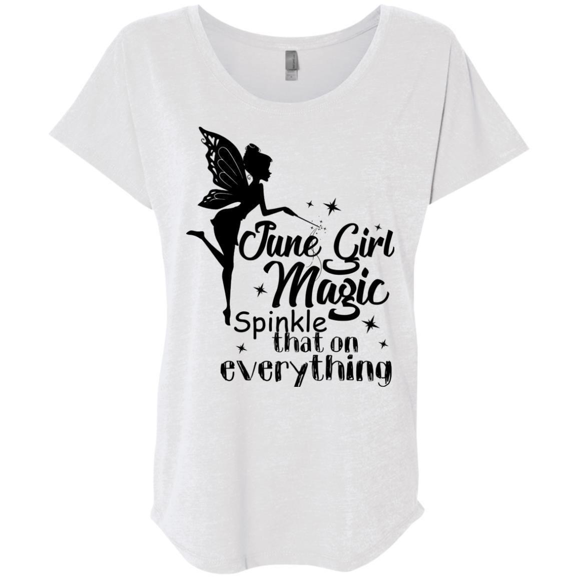 June Girl Magic I Sprinkle That On Everything Shirt